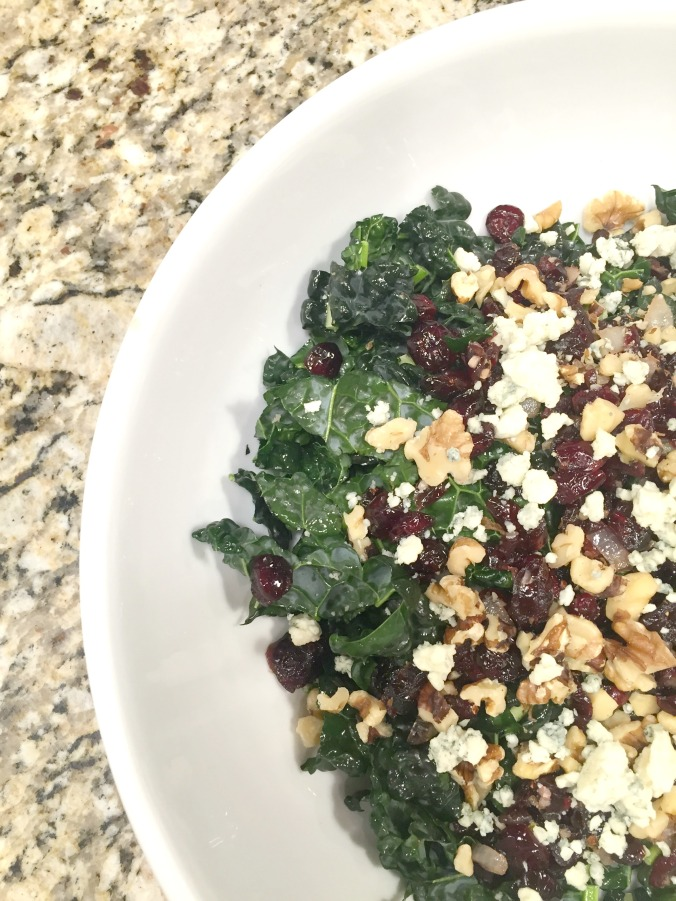 Kale Cranberry Salad | Homegrown Happiness